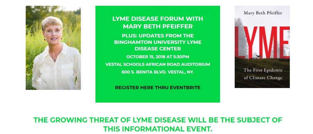 Mary Beth Pfeiffer Lyme The First Epidemic of Climate Change